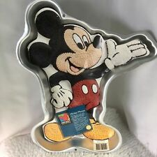 1995 Disney Wilton Mickey Mouse Cake Pan Vintage 2105-3601 With Instructions