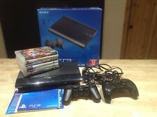 ps3 console 12GB with Games Bundle