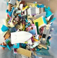 LEGO Job Lot Friends Bundle 500g of Mixed Bricks Small, Med,Large Parts Pieces.
