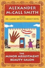 THE MINOR ADJUSTMENT BEAUTY SALON-Alexander McCall Smith (2013 Hardcover,DJ) 1st