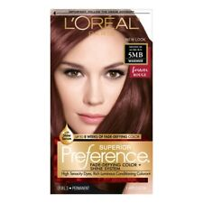 Loreal Superior Preference Permanent Hair Color 5MB Medium Auburn Forever Rouge