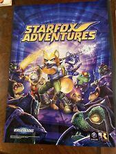 Starfix Adventures Gamecube Poster Insert
