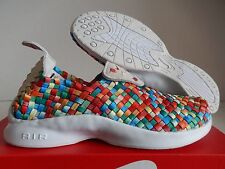 "MENS NIKE AIR WOVEN PREMIUM FOOTSCAPE ""RAINBOW MULTI COLOR"" SZ 6 [898028-001]"