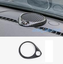 Carbon Fiber Dashboard Audio Speaker Frame Trim For Jeep Grand Cherokee 2014-19