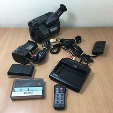 Camcorder Sony CCD-TR805E Hi 8 HANDYCAM CON ACCESSORI E CUSTODIA