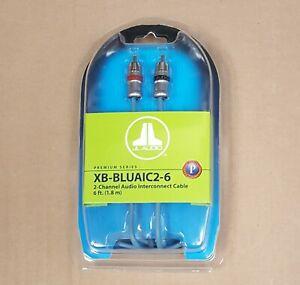 JL Audio XB-BLUAIC2-6 Premium ECS 2-ch  6-ft RCA Audio Interconnect Cable * NEW
