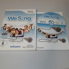 We Sing Nintendo Wii