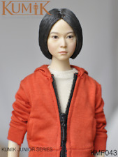 KUMIK  Junior 1/6 Figure Girl Completed W/Orange Coat Head  Body KMF043 Collect
