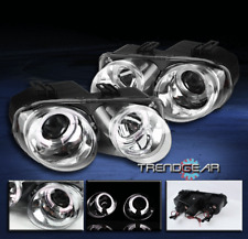 1994-1997 ACURA INTEGRA DUAL HALO PROJECTOR HEADLIGHTS LAMPS JDM CLEAR 1995 1996
