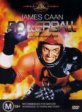 ROLLERBALL (James CAAN John HOUSEMAN Maud ADAMS) ACTION Sci-Fi Film DVD Region 4