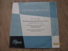 Vinyl7 Studienplatte Johann Sebastian Bach Brandenburgisches Konzert Nr 4