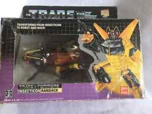 Transformers Original G1 1985 Deluxe Insecticon Ransack w/ Box