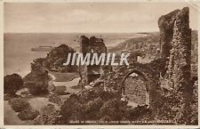 Old Postcard Ruin of Church of Blessed Virgin Mary, Hastings Real Photograph