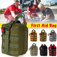 Tactical First Aid Kit Bag Medical Molle EMT Emergency Survival Pouch  !!A