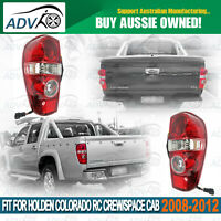 Pair Rear Tail Lights Lamp for HOLDEN COLORADO RC CREW/SPACE CAB 2008-2012 LH+RH