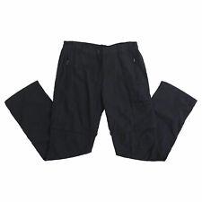CMP Damen Zip Off Hose schwarz Größe M Dry Function Trainingshose Sporthose