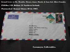 Airmail à M. McCaulley. James Mackie & Sons Ltd Albert Foundry Belfast.AH0509.
