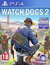 Watch Dogs 2 (PS4) -  Excellent - 1st Class FAST & FREE Delivery