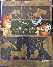 The Lion King Trilogy (Blu-Ray Disc, 2016, 3-Disc)