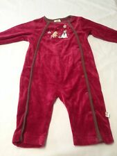 Infant Unisex (6-9M) Cotton/Polyester Classic Pooh One Piece Outfit By Disney