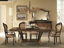 Classic 1 Chair Designer Italian Dining Room Furniture Wood Set Baroque
