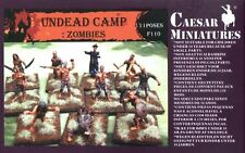 CAESAR MINIATURES 1/72 F110 UNDEAD CAMP ZOMBIES 40 Fantasy Figures FREE SHIP