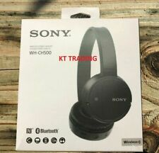 Sony WH-CH500 Stamina Wireless Bluetooth Headphones w/Mic Black (WHCH500/B)
