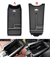 ABS Interior Armrest Storage Box Tray For Mercedes Benz E Class W212 2010-2016