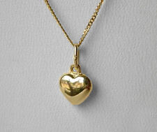 ECHT GOLD *** Kleiner Herz Anhänger 8 mm