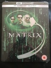 The Matrix  4K Ultra HD Blu-ray Steelbook