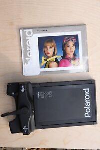 Polaroid 545i  Film Holder w. Manual