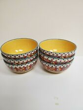 6 Tabletops Gallery Josammine Pattern 6.5� D x 3.25� Bowls Cereal/Serving/Pasta