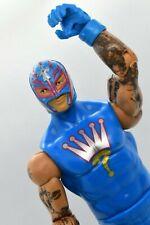 Rey Mysterio WWE Mattel 2011 Action Figure Basic Series Blue 619 Loose Figure