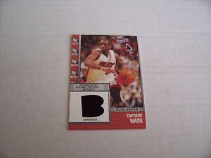 2005-06 BAZOOKA BASKETBALL BLOG SQUAD RELIC DWYANE WADE INSERT CARD, MIAMI HEAT
