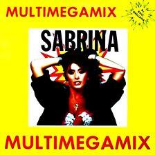 "12"" - Sabrina – Multimegamix (RAUL ORELLANA DJ MEGAMIX) NEW LISTEN, NUEVO OYELO"