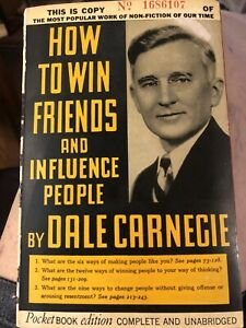 How To Win Friends And Influence People D. Carnegie Original Pocketbook Edition!
