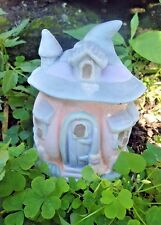 "Latex only  pumpkin fairy house mold plaster concrete mould 4"" x 3.5"""