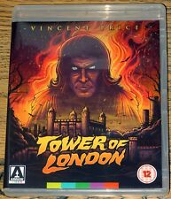 TOWER OF LONDON 1962 VINCENT PRICE RB/2 BLU-RAY DVD DUAL FORMAT