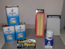 KIT TAGLIANDO FIAT 500 PANDA NATURAL POWER 1.2 GPL METANO SELENIA GAS + 3 FILTRI