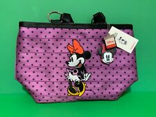 New Disney Minnie Mouse Carriage Ring Polka Dots Harveys Seatbelt Tote Bag