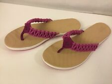 SPERRY TOP SIDER Seabrook Current Pink Thong Sandal Comfort Sze 7.5 EU 38 NIB