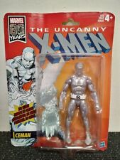 Marvel Legends X-Men Retro Card Iceman With Original Opened Packaging Vintage