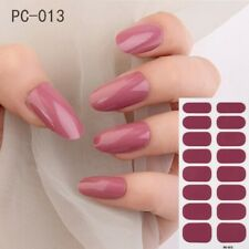 Solid Stickers Fashion Trend Nail Art Wraps Nail Polish Ins Styles Diy Stickers