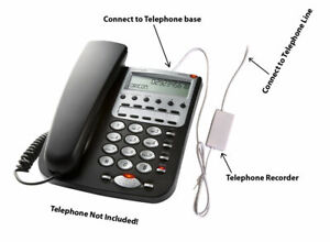 Micro Telephone Recorder USB Telephone Phone Voice Recorder No PC Required