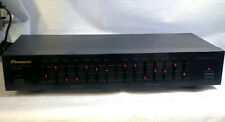 Pioneer Model Gr-408 Graphic Equalizer 7 Band - Good Condition - Tested - Works!