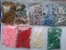 Buttons Mix - 790 pieces of different shapes, colors and sizes