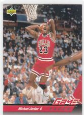 MICHAEL JORDAN  GAME FACE NBA CARD