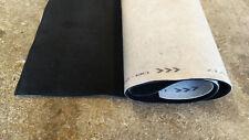 Autoteppich Meterware Samtvelours graphit-schwarz 170 x 200 cm