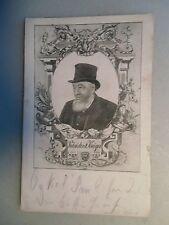 Ansichtskarte Paul Kruger  Südafrika post. Rastatt 1902