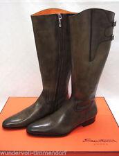 Kniehohe Stiefel aus Echtleder in EUR 41
